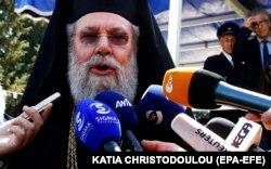Хризостом II – архієпископ Нової Юстиніани і всього Кіпру, глава Православної церкви Кіпру