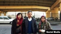 Иранский правозащитник Абдулфаттах Солтани.