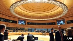 Pamje nga Këshilli për Punë të Jashtme i BE-së, Luksemburg, 23 prill 2012