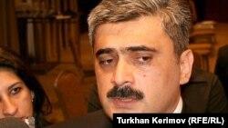 Maliyyə naziri Samir Şərifov