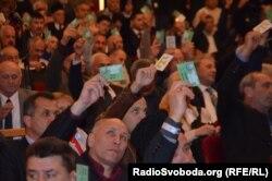 голосування на виборах голови Меджлісу кримськотатарського народу