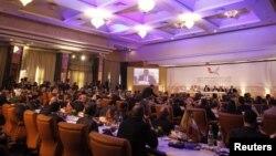 """Во время встречи """"Группы друзей Сирии"""" в Тунисе, 24 февраля 2012"""