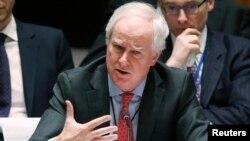 مارک گرنت، سفیر بریتانیا در سازمان ملل