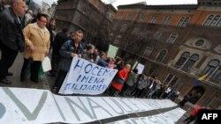 Sa jednog od protesta bh. građana