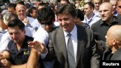 Еюп Ґанич повернувся до Сараєва, Боснія і Герцеговина, 28 липня 2010 року