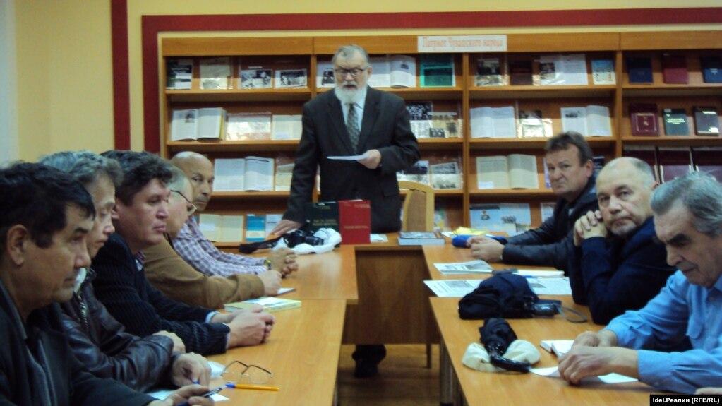 Виталий Станьял во главе Центрального совета чувашских старейшин