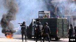 مواجهات بين قوى الامن المصرية وجماعة الاخوان ـ القاهرة 3 كانون الثاني