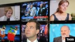 Визит Дмитрия Медведева на ВГТРК удостоился особого внимания блогеров