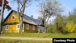 Родной дом Атанаса Мишкиниса в Утене