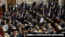 Архивска фотографија- седница на грчкиот парламент