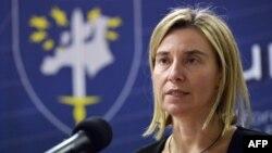 فدریکا موگرینی، مسوول امور سیاست خارجی اتحادیه اروپا