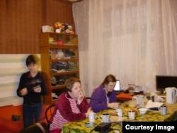 Беженцы из Донецка в Петербурге