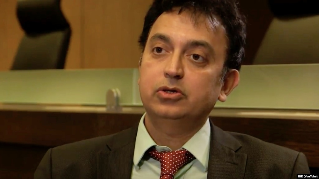 Javaid Rehman, the UN's special rapporteur on human rights in Iran