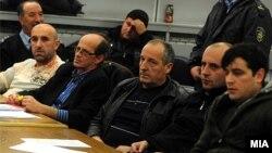 """Судскиот процес """"Монструм"""" за петте убиства кај Смиљковското Езеро на 12 април 2012 година."""