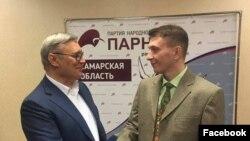 Михаил Касьянов и Андрей Балин