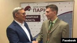 Михаил Касьянов (справа) и Андрей Балин