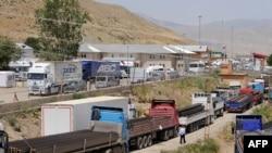 نقطه مرزی «اسن دره» در ترکیه که همجوار استان آذربایجان غربی بوده و ترکیه آن را بسته است.
