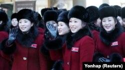 Түндүк Кореядан келген күйөрмандар, 7.02.2018