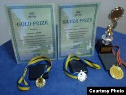 Nagrade koje je osvojio Ljubomir Samardžija za svoje patente