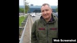 Dmitri Rogozin la întoarcerea la Moscova, imagine Twitter, pe aeroportul Domodedovo