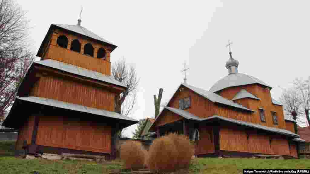 Дерев'яна церква 18-го століття