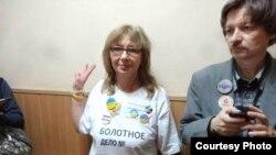 Irina Kalmikova na sudu šest dana pre bekstva iz Rusije