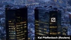 Штаб-квартира банка во Франкфурте.