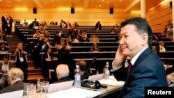Российский политик Кирсан Илюмжинов, президент ФИДЕ.
