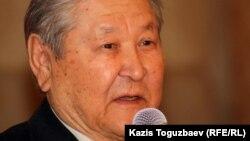 Оппозициялық саясаткер Серікболсын Әбділдин. Алматы, 13 қаңтар 2012 жыл.