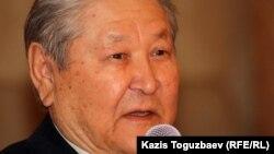 Серикболсын Абдильдин, оппозиционный политик, бывший председатель Коммунистической партии Казахстана.