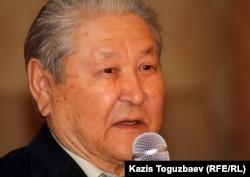Оппозициялық саясаткер Серікболсын Әбділдин. Алматы, 13 наурыз 2012 жыл.