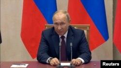 Путин куштори Керчро ҷиноят номид