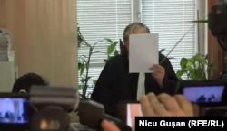 Judecătorul Sergiu Lazari astăzi...