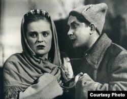 «Міхась Падгорны» (Яўген Цікоцкі). Тамара Шымко, Герман Дзьмітрыеў — Марыся, Міхась, 1957