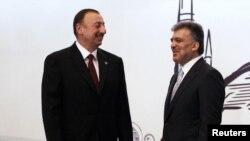 İlham Əliyev və Abdullah Gül