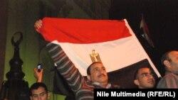 مسيرة احتجاج ضد رئيس مصر في كانون الاول 2012