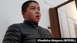 Этнический казах из Китая Мурагер Алимулы, которого обвиняют в незаконном пересечении границы. Зайсан, Восточно-Казахстанская область. 6 января 2020 года.