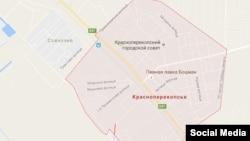 Google maps Яны Капуну кайра Красноперекопск деп жазды