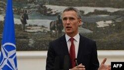 Shefi i NATO-s, Jens Stoltenberg.