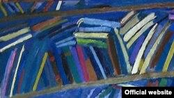 Картина Максима Кантора «Книги»