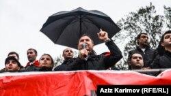 Milli Şuranın mitinqi - 27 oktyabr 2014