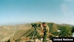 Кипар - мировник на ОН на линијата на разграничување