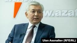 Лидер кыргызстанской фракции СДПК Иса Омуркулов.