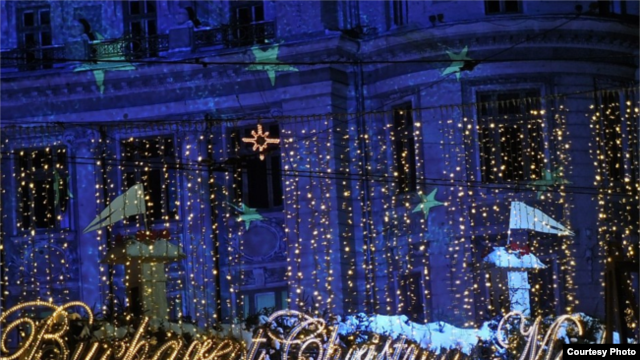 Piața de Crăciun de la București.