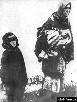 Украина – Мацалла хIоьттинчера дIаоьхуш бу украинхой, 1933