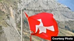 Государственный флаг Швейцарии. Иллюстративное фото.