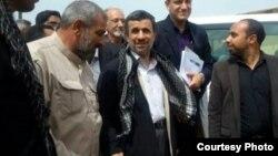ورود احمدینژاد به اهواز
