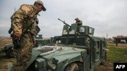 Իրաքի զինուժը Մոսուլի հարավում, արխիվ