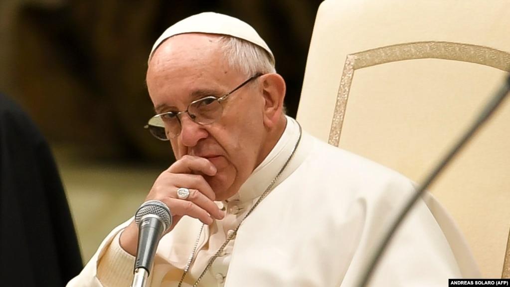 Папа Римский знает, кто стоит за конфликтом на Украине
