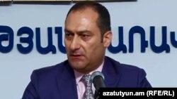 Кандидат в мэры Еревана от блока «Луйс» Артак Зейналян (архив)